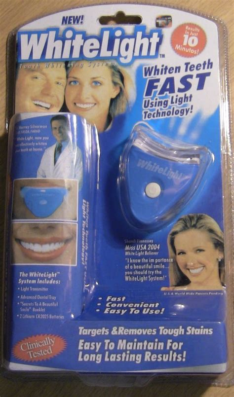 whitelight tooth whitening system does it really work