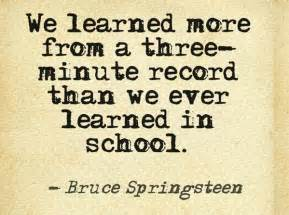 Image result for bruce springsteen quotes