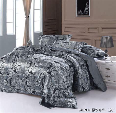 grey gray silver natural mulberry silk comforter bedding