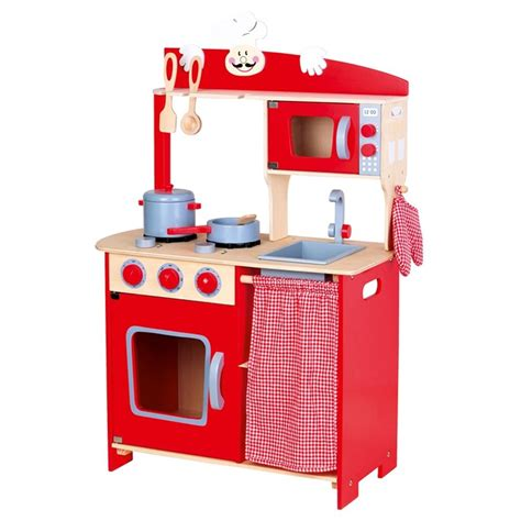Childrens Wooden Kitchen  Kids Roleplay Toy Kitchens  Ebay