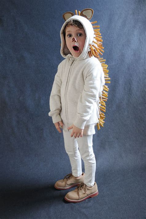 Pasta Costumes: Hedgehog   Project kid