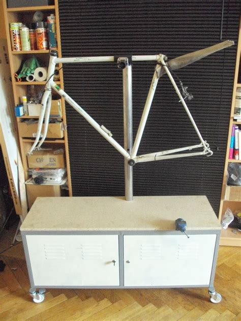ps  bicycle repair stand ikea hackers