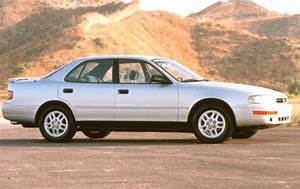 Maintenance Schedule For 1993 Toyota Camry