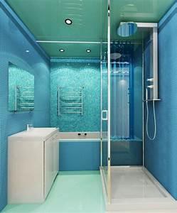 Meuble Salle De Bain Turquoise : meuble de salle de bain turquoise ~ Dailycaller-alerts.com Idées de Décoration
