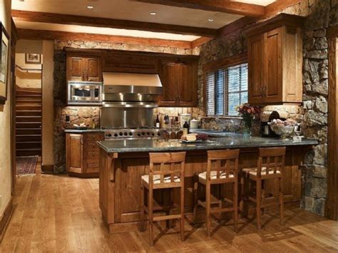 charming modern rustic kitchen design ideas