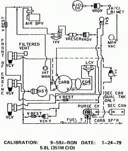 1979 Ford F150 Vacuum Diagram