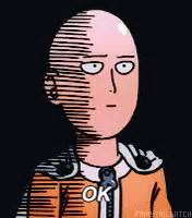 One Punch Man Ok GIF - OnePunchMan Ok Okay - Discover ...