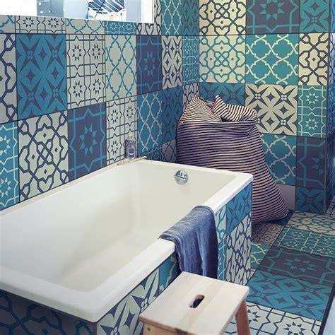 Fliesenaufkleber Bad Boden by Bad Fliesenaufkleber Boden Wohn Design