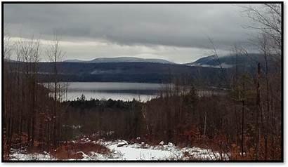 Maine Ice Fishing Glacial Lake Lakes Coastalanglermag