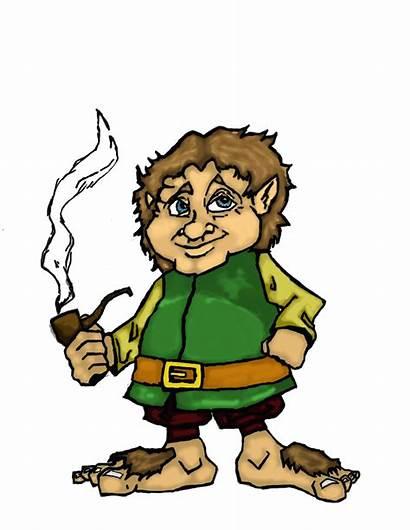 Hobbit Cartoon Drawing Draw Icon Dewitt Andrew