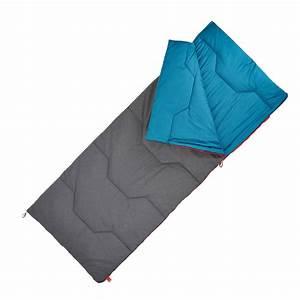 Sac De Couchage Garcon : sac de couchage de camping arpenaz 10 coton quechua ~ Teatrodelosmanantiales.com Idées de Décoration