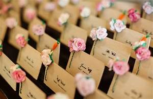 15 best ways to use diy paper craft in your wedding With ideas for place cards wedding