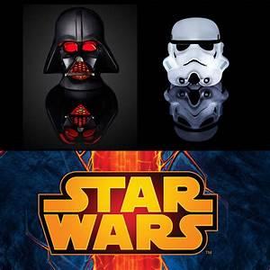 Lampe Star Wars : lampe d 39 ambiance star wars cadeau geek sur ~ Orissabook.com Haus und Dekorationen