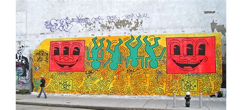 keith haring mural nyc the future