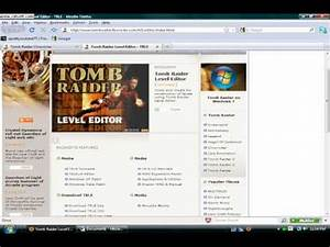 Tomb Raider Level Editor Tutorials Part No.1 - YouTube