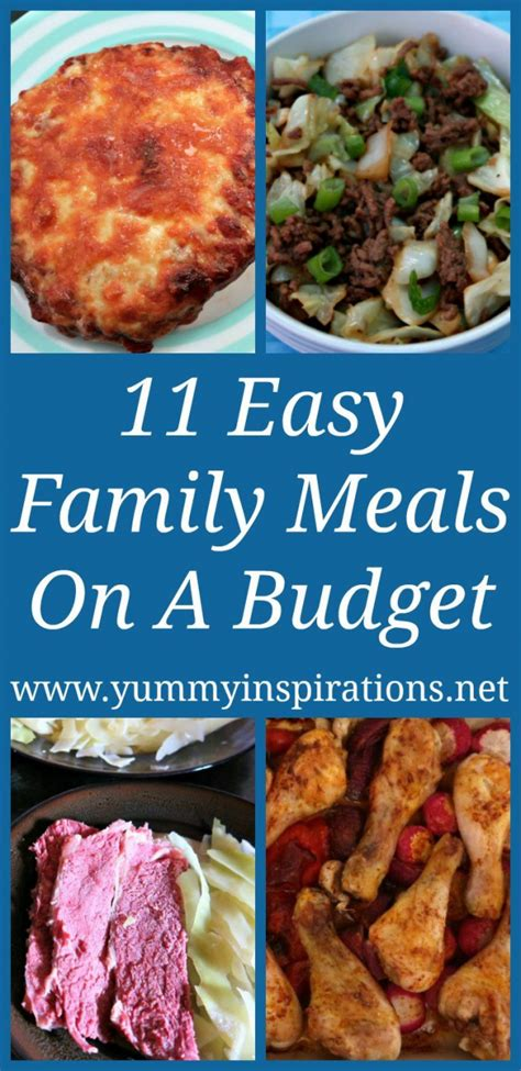 In our house, we have one extremely fussy eater which often makes dinner a struggle. 11 Family Meals On A Budget - Easy Low Carb Dinner Ideas ...
