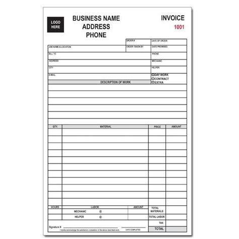 auto repair receipt receipt template invoice template