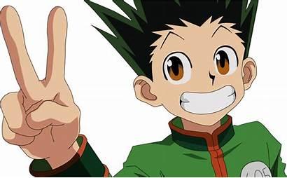 Gon Hunter Transparent Freecss Academia Hero Midoriya