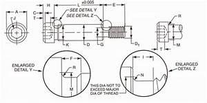Socket Shoulder Screws Dimensions  U0026 Properties