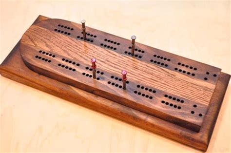 cribbage board  art  manliness