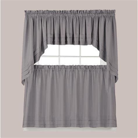 20 Inch Valances by Saturday Holden 30 In L Polyester Swag Valance In