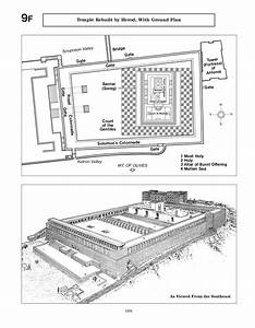 9f Temple Rebuilt By Herod  With Ground Plan  U2014 Watchtower Online Library