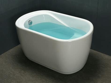 x au bureau baignoire sabot piccola 1 place de 181l acrylique renforcé