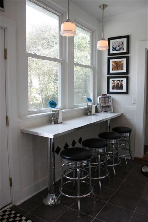 debbies counter bar  bar stools home seating area small space