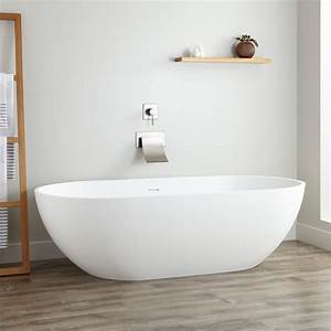 70quot Eira Resin Freestanding Tub Bathroom