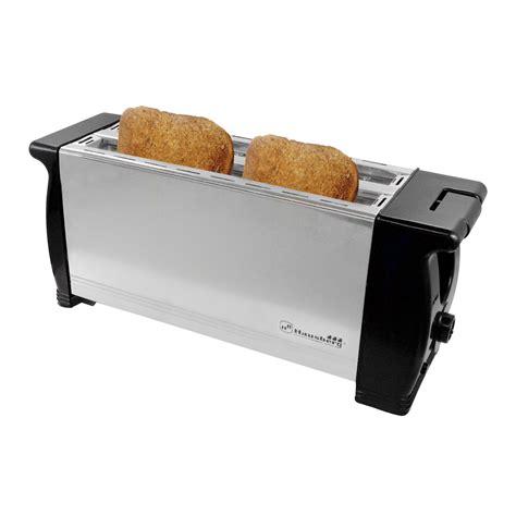 langschlitztoaster 4 scheiben toaster langschlitztoaster f 252 r 4 scheiben 1200 watt hb 180 hausberg uvp 28 52 trade4less