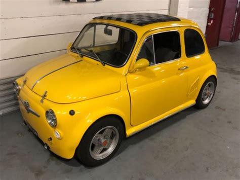 Fiat 500 Upgrades by 1970 Fiat 500 Yellow Abarth Upgrades 650cc Engine
