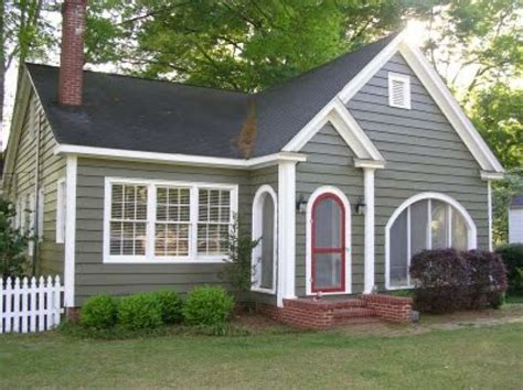 cottage exterior paint color schemes studio design