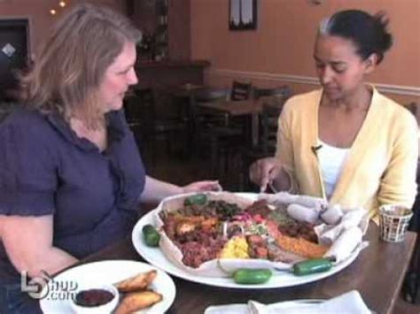 How To Eat Ethiopian Food At Mesob Funnycattv