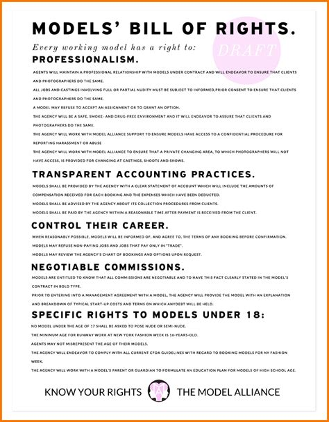 Contract Sow Template by 9 Fashion Show Contract Template Financial Statement Form
