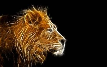 3d Cool Desktop Lion Dance Backgrounds Gold