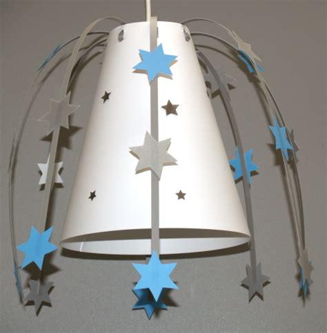 luminaire chambre garcon luminaire garçon etoiles bleu gris idées chambre bb