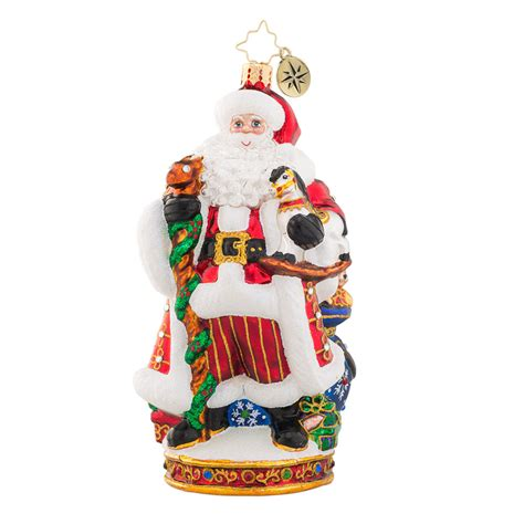 christopher radko it s christmas time signing ornament