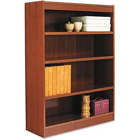 Alera Bookcase by Alera Square Corner Bookcase Wood Veneer 36 Quot X 12 Quot X 48