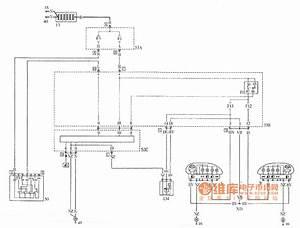 Palio Headlamp Beam Adjustment Device Circuit - Basic Circuit - Circuit Diagram