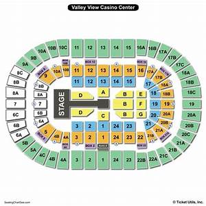 Valley View Casino Seating Chart Hockey Valley View Casino Center Seating Chart Seating Charts
