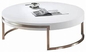 whiteline ross coffee table high gloss white metal frame With white metal outdoor coffee table