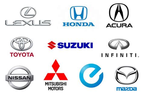 japanese car brands japanese car brands names list and logos of jdm cars