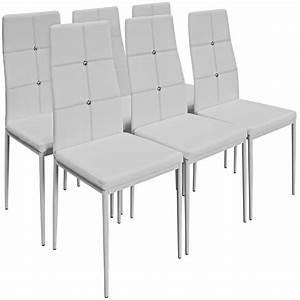 6x chaises de salle a manger avec strass noires achat With meuble salle À manger avec chaises salle À manger noires