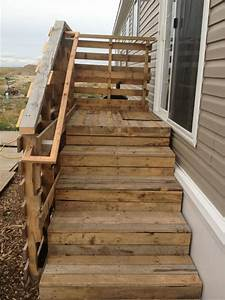 10 Used Old Pallet Wood Stairs Ideas Pallets Designs
