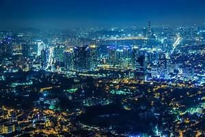 Seoul Nighthaze HD Wallpaper