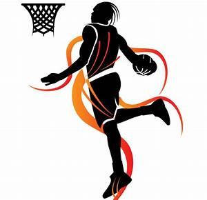 Slam Dunk Basketball Vector 123freevectors