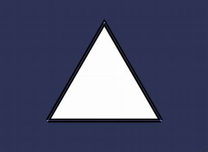 Expanding Triangle Stroke Pointed Keep Together Paths
