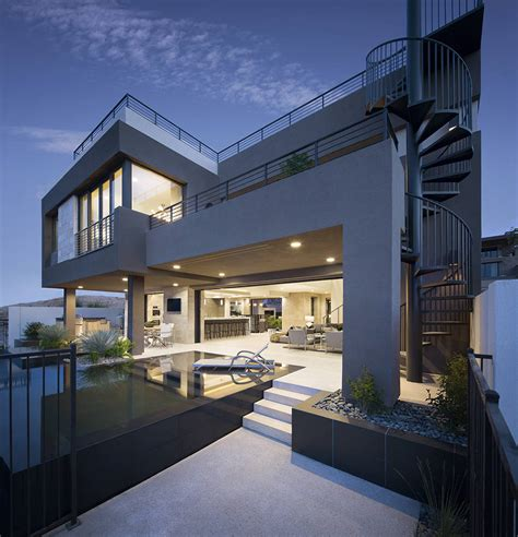 Homebuilders Embrace Modern Architecture  Las Vegas