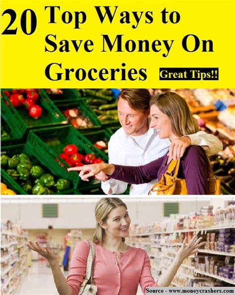 20 Top Ways To Save Money On Groceries  Home And Life Tips
