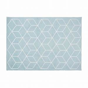 tapis graphique bleu urbantrottcom With tapis graphique bleu